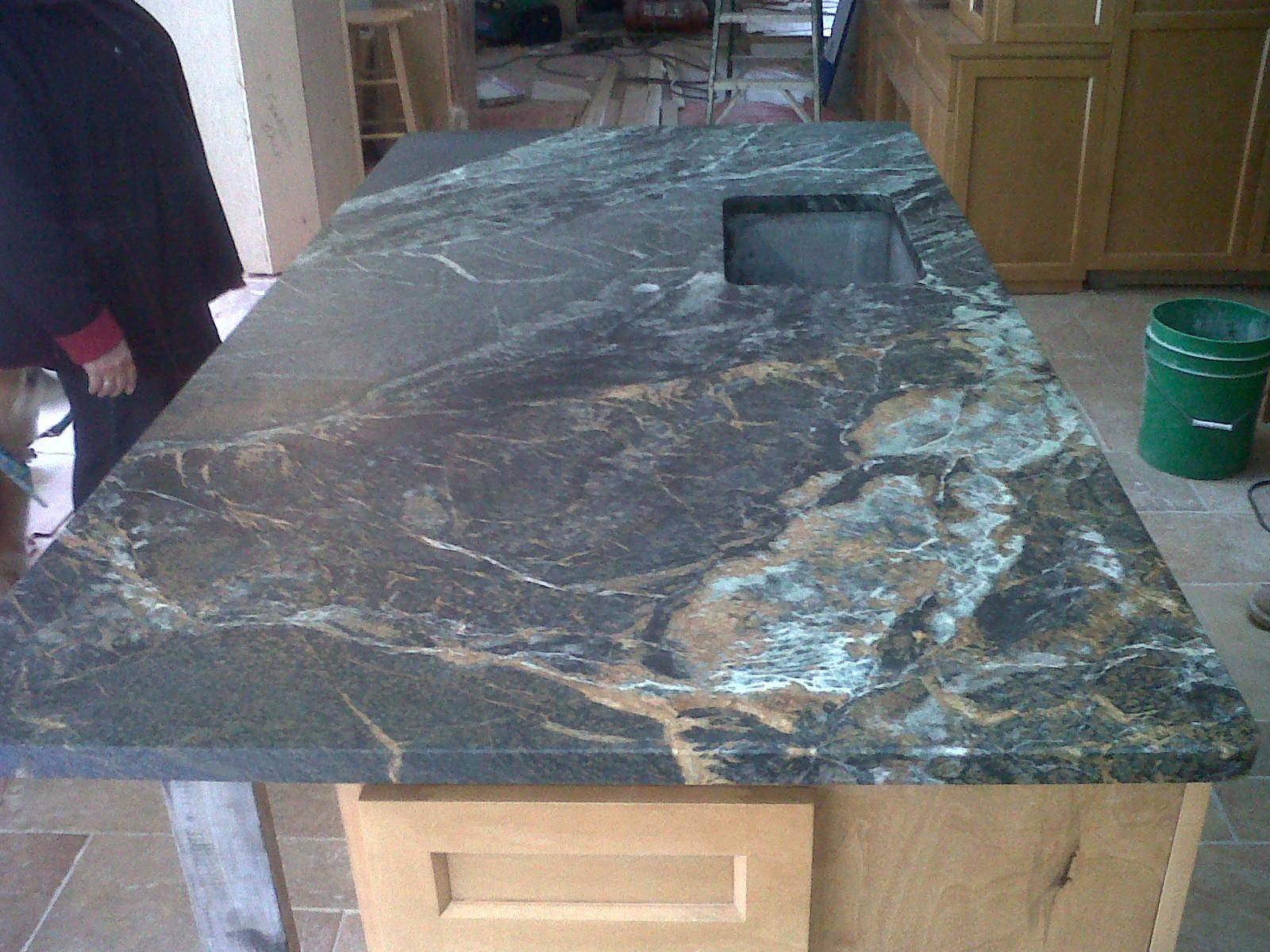 Beautiful Copper Minas Soapstone Werks