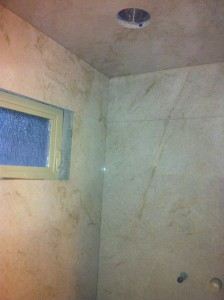 quartzite steam shower right