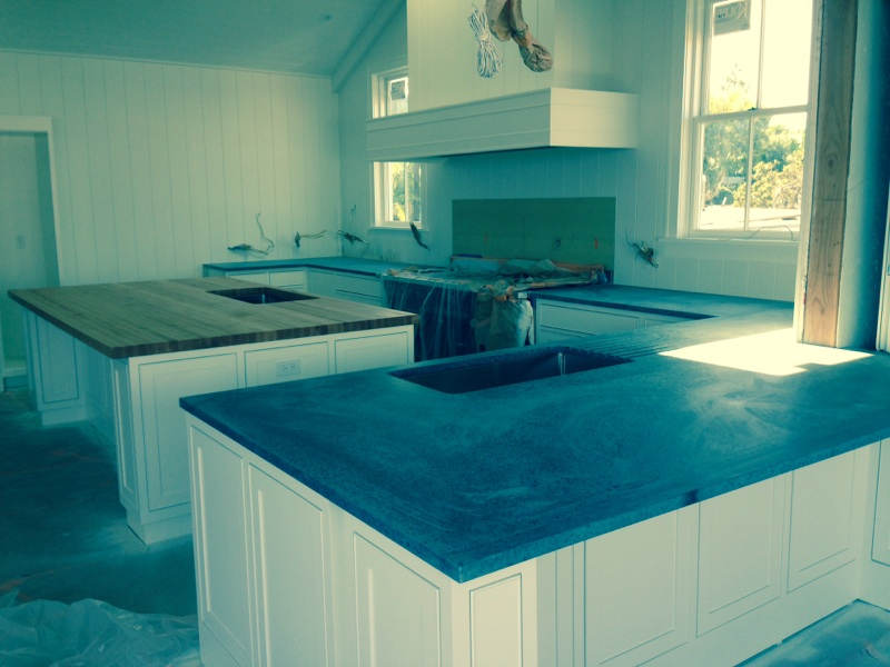 Wood and soapstone counters soapstone werks for Soapstone price per square foot