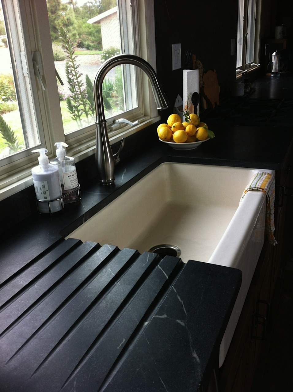 option countertops kitchen your kitchenwithsoapstonecounters soapstone for viable counters