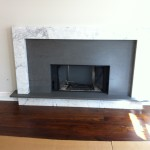 mixed stone fireplace 1