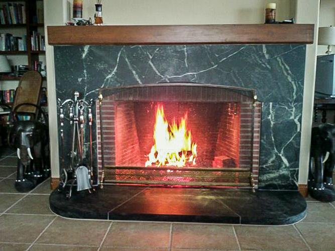 Soapstone Fireplace 100 Tulikivi