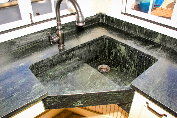 get ideas for your own soapstone sink or just admire the beauty of the soapstone and how it accentuates any countertop photos by soapstone werks - Soapstone Sink
