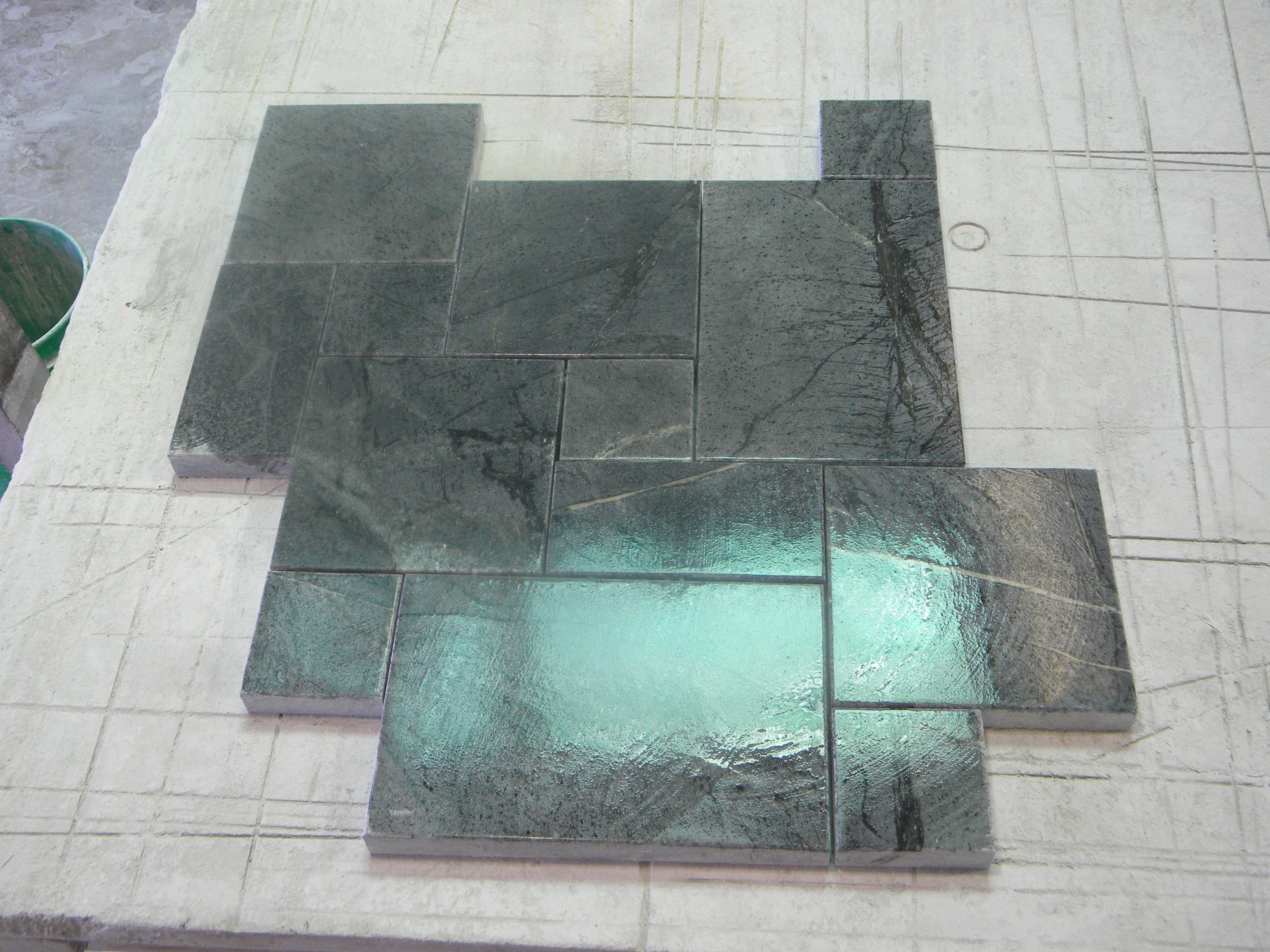 Soapstone flooring by californias own soapstone werks browse our soapstone flooring gallery doublecrazyfo Gallery